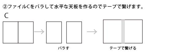 撮影キット作成方法2